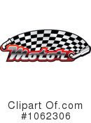 Royalty-Free (RF) Motor Sports Clipart Illustration #1062306