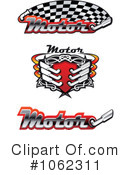 Royalty-Free (RF) Motor Sports Clipart Illustration #1062311