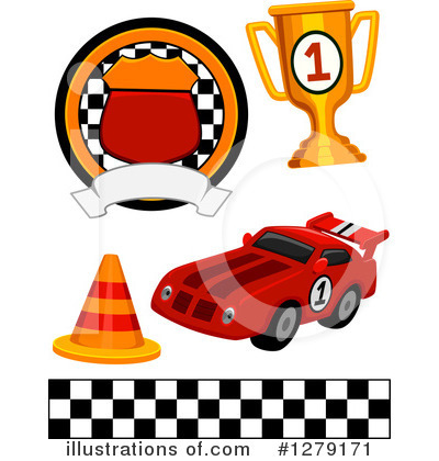 Motor Sports Clipart #1279171 by BNP Design Studio
