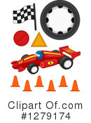 Motor Sports Clipart #1279174 by BNP Design Studio