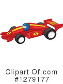 Royalty-Free (RF) Motor Sports Clipart Illustration #1279177