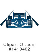 Royalty-Free (RF) Motor Sports Clipart Illustration #1410402