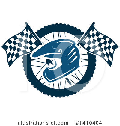 Tire Clipart #1410404 by Vector Tradition SM