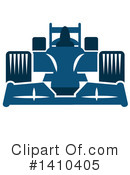 Royalty-Free (RF) Motor Sports Clipart Illustration #1410405