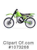Royalty-Free (RF) Motorcycle Clipart Illustration #1073268