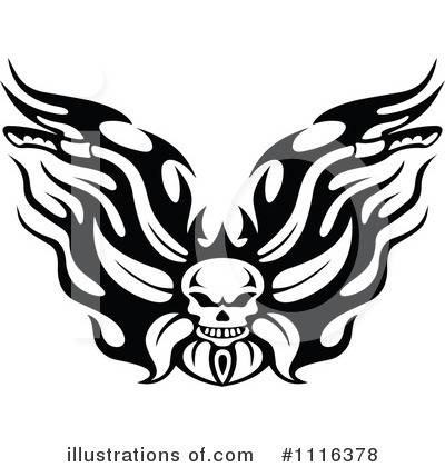 Motorcycle Clipart #1116378 by Vector Tradition SM