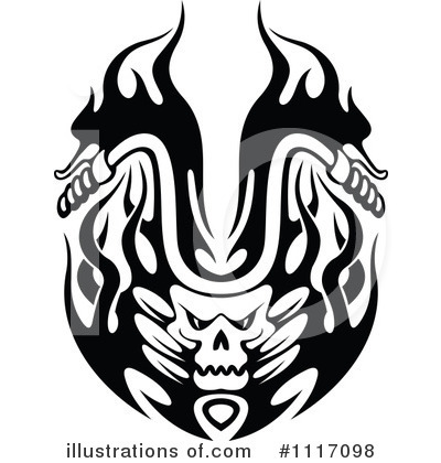 Biker Clipart #1117098 by Vector Tradition SM