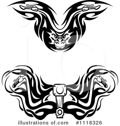 Biker Clipart #1118326 by Vector Tradition SM