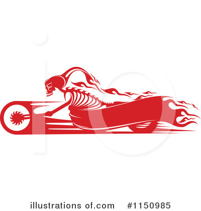 Motorcycle Clipart #1150985 by Vector Tradition SM