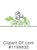 Royalty-Free (RF) Motorcycle Clipart Illustration #1198832