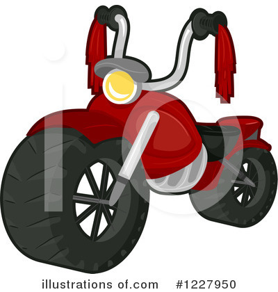 Motorcycle Clipart #1227950 by BNP Design Studio