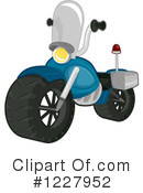 Royalty-Free (RF) Motorcycle Clipart Illustration #1227952