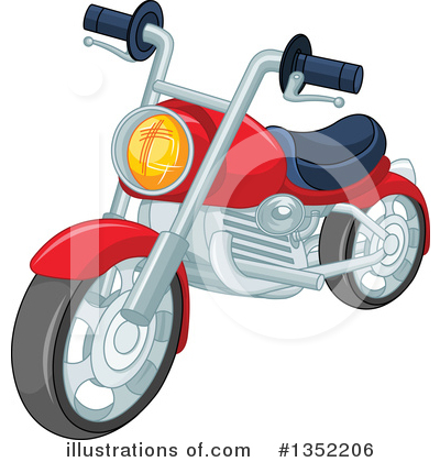 Motorcycle Clipart #1352206 by Pushkin