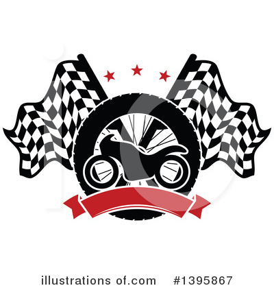 Motorsports Clipart #1395867 by Vector Tradition SM