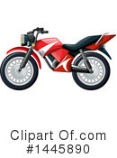 Royalty-Free (RF) Motorcycle Clipart Illustration #1445890