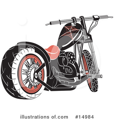 Motorcycle Clipart #14984 by Andy Nortnik