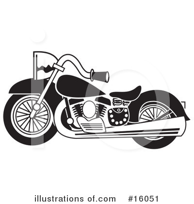 Bike Clipart #16051 by Andy Nortnik