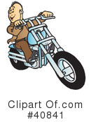 Motorcycle Clipart #40841 by Snowy