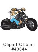 Motorcycle Clipart #40844 by Snowy
