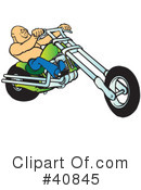 Motorcycle Clipart #40845 by Snowy