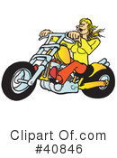 Motorcycle Clipart #40846 by Snowy