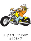 Motorcycle Clipart #40847 by Snowy
