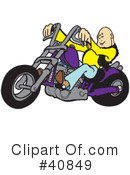 Motorcycle Clipart #40849 by Snowy