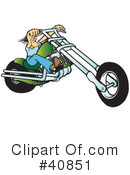 Motorcycle Clipart #40851 by Snowy