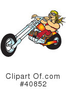 Motorcycle Clipart #40852 by Snowy