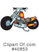 Motorcycle Clipart #40853 by Snowy