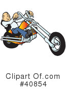 Motorcycle Clipart #40854 by Snowy