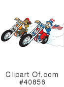 Motorcycle Clipart #40856 by Snowy