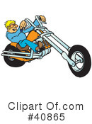 Motorcycle Clipart #40865 by Snowy