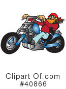 Motorcycle Clipart #40866 by Snowy