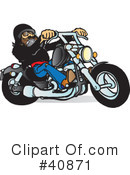 Motorcycle Clipart #40871 by Snowy