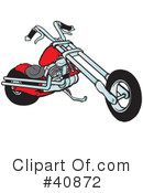 Motorcycle Clipart #40872 by Snowy