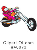 Motorcycle Clipart #40873 by Snowy