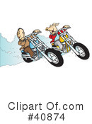 Motorcycle Clipart #40874 by Snowy