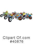 Motorcycle Clipart #40876 by Snowy