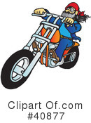 Motorcycle Clipart #40877 by Snowy