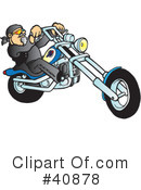 Motorcycle Clipart #40878 by Snowy