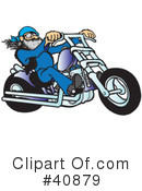 Motorcycle Clipart #40879 by Snowy