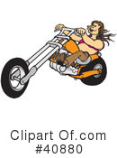 Motorcycle Clipart #40880 by Snowy