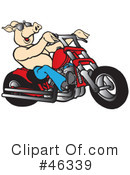 Motorcycle Clipart #46339 by Snowy