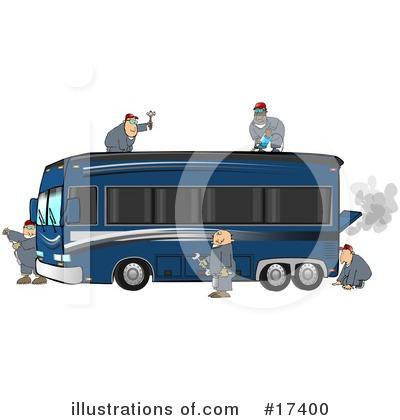 Mechanic Clipart #17400 by djart