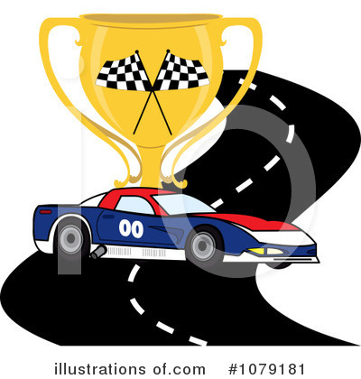 Race Track Clipart #1079181 by Pams Clipart