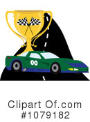 Royalty-Free (RF) Motorsports Clipart Illustration #1079182