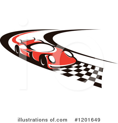 Motorsports Clipart #1201649 by Vector Tradition SM