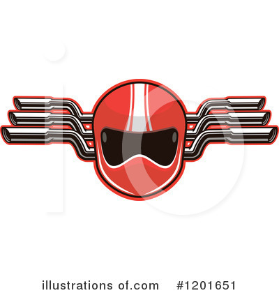 Motorsports Clipart #1201651 by Vector Tradition SM
