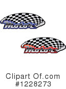 Royalty-Free (RF) Motorsports Clipart Illustration #1228273